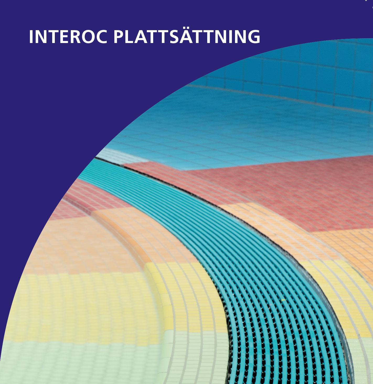 Interoc plattsättning